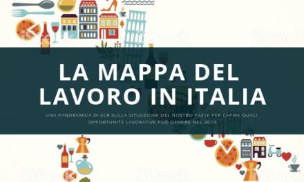 La mappa del lavoro in Italia