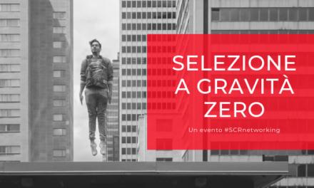 """""""Selezione a gravità zero"""": in arrivo l'evento di SCR che apre la nuova stagione professionale"""