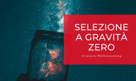 """Vi presentiamo il programma completo dell'evento """"Selezione a Gravità Zero"""""""