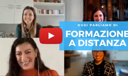 Formazione a Distanza: l'intervista a Giada e Antonia