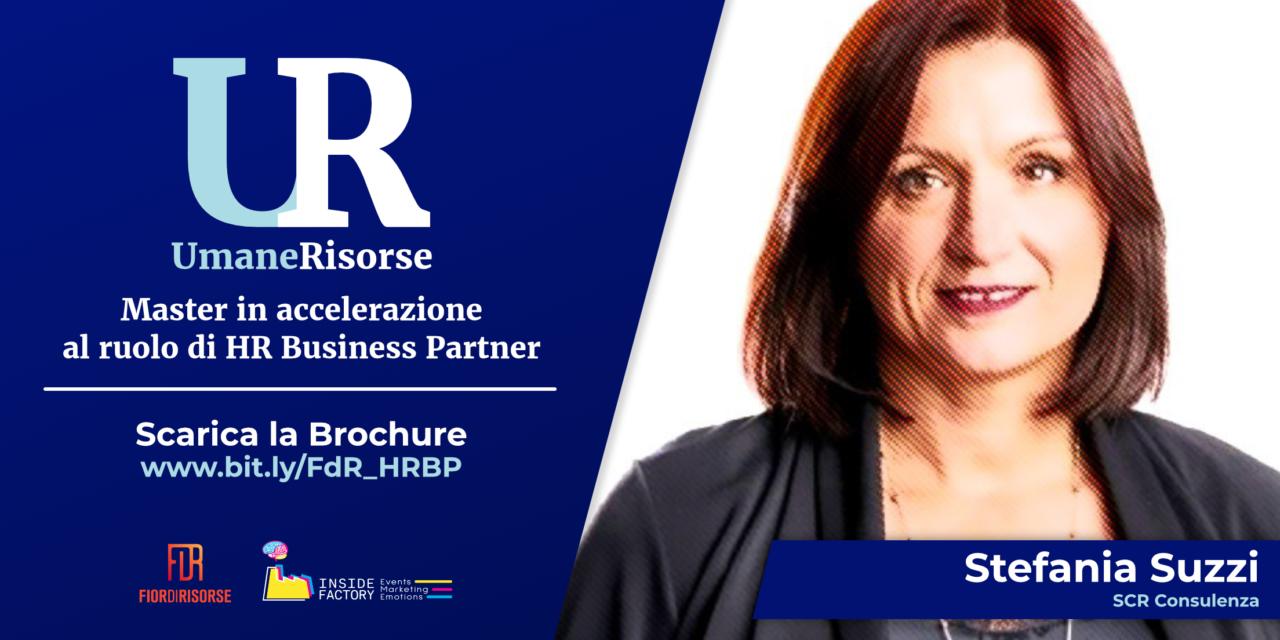 Stefania Suzzi tra i docenti al Master in accelerazione al ruolo di HR Business Partner